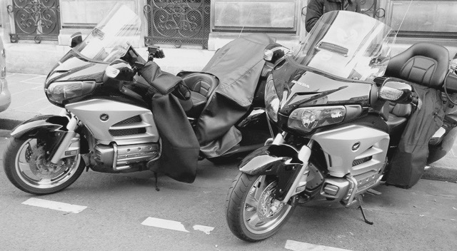 goldwing taxi moto