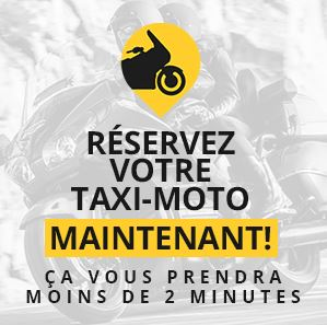 Taxi moto Orly CDG