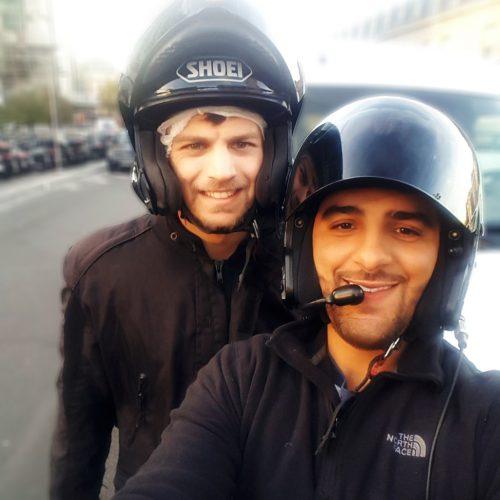 Taxi Moto Paris 14