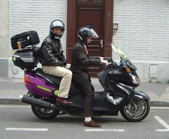 Taxi Moto Paris 13