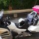 bagage en taxi moto