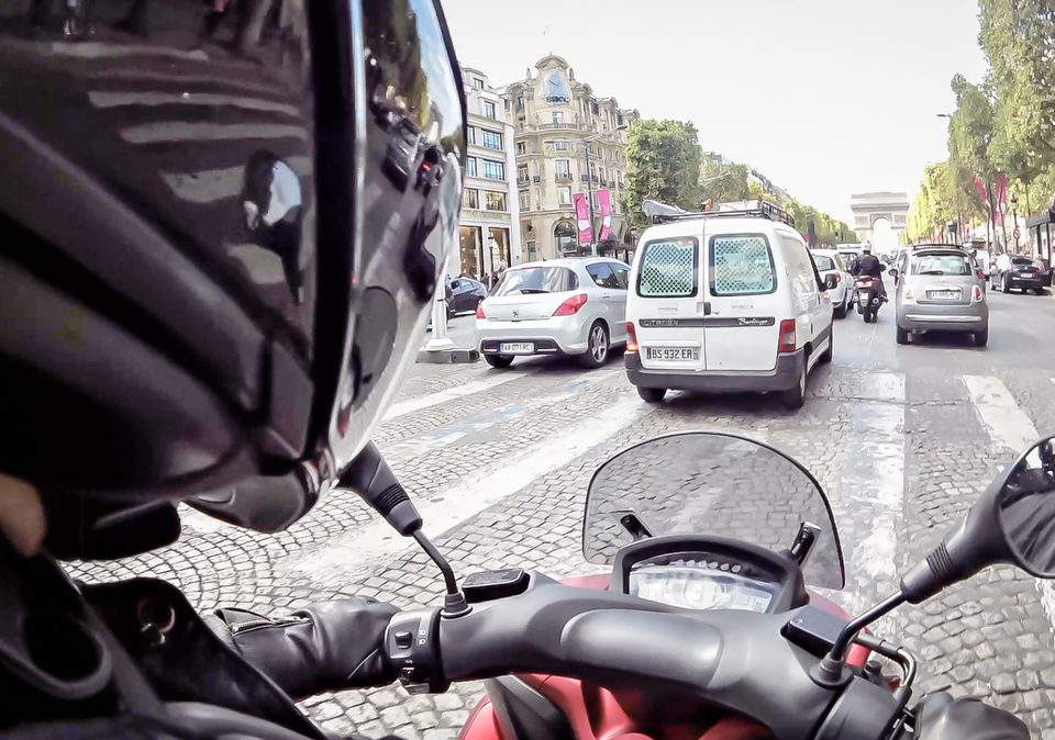 taxi moto : anti-circulation