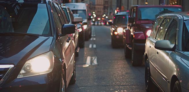 éviter les embouteillages